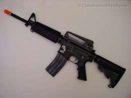 Lonex M4A1 AEG with 14.5 in Outer Barrel